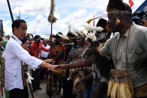 Suku Asmat Minta Dibangunkan Rumah, Ini Reaksi Jokowi